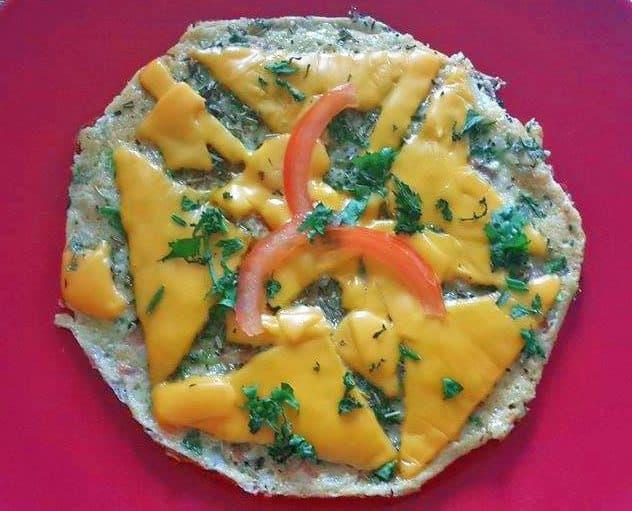 cheesy omlete