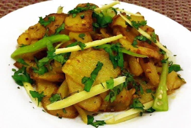 cumin chilli fried potato 2nd pic