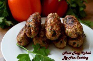 meat tiny kabab
