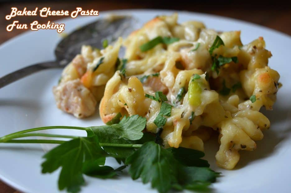 baked cheese pasta 19