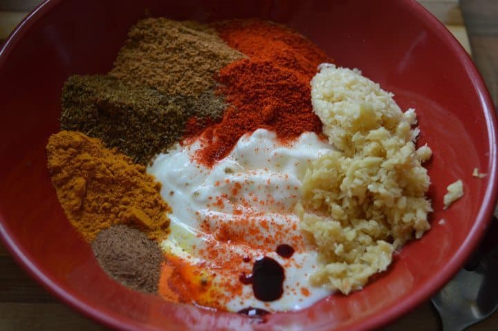2. In a separate bowl , mix all list 2 marination ingredients.