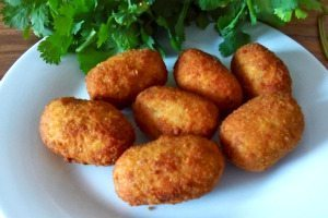 Chicken cheese Croquettes