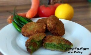 Greeny veg nuggets