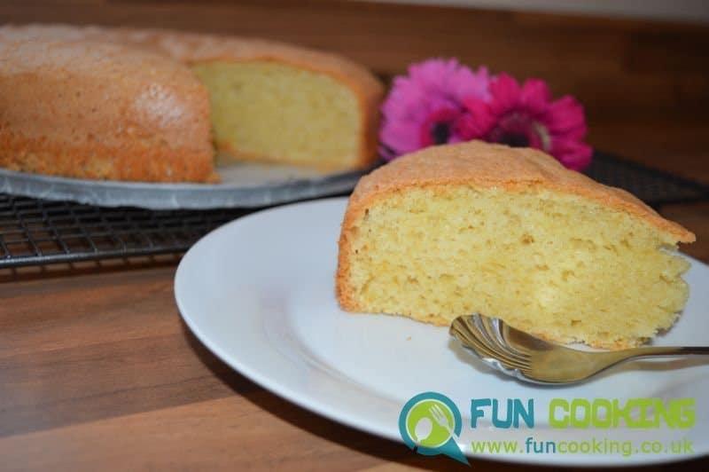 how to make a plain vanilla cake