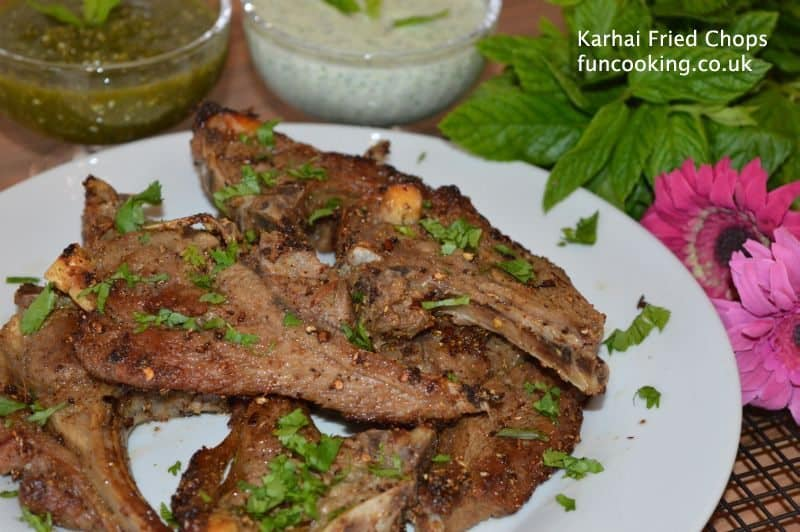 Karhai Fried Chops