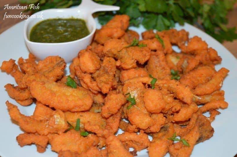 serve with coriander chatni.