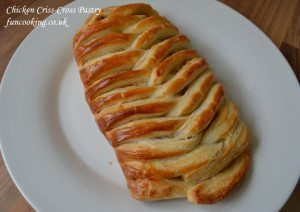 Chicken Criss-Cross Pastry