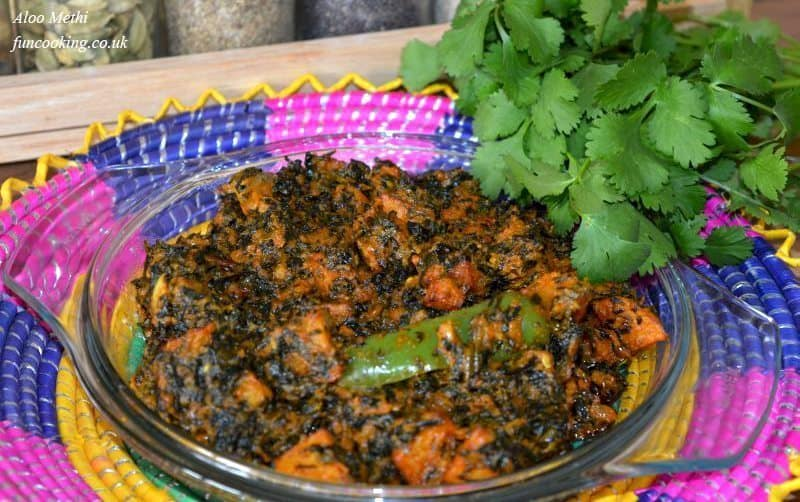 serve with hot chapati and butter.