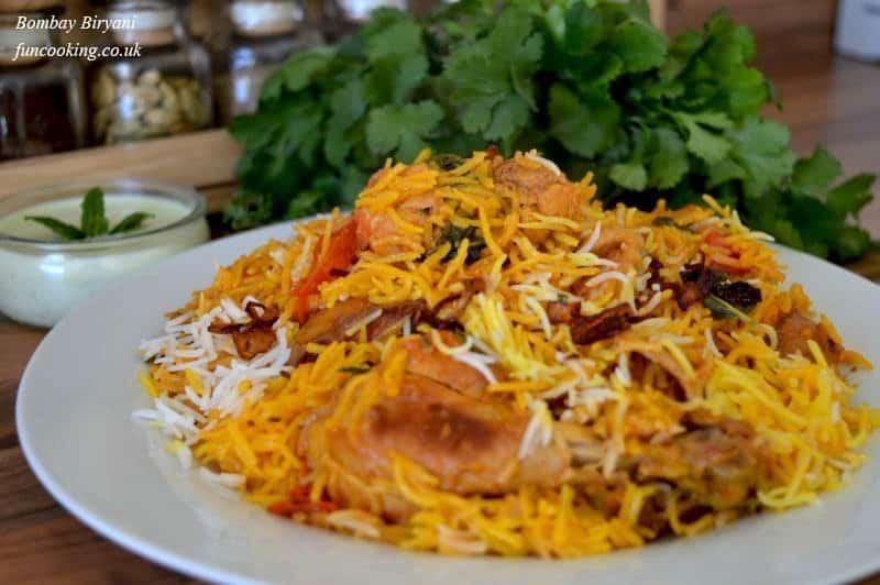 Chicken Bombay biryani