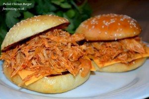 Pulled Chicken Burger 68
