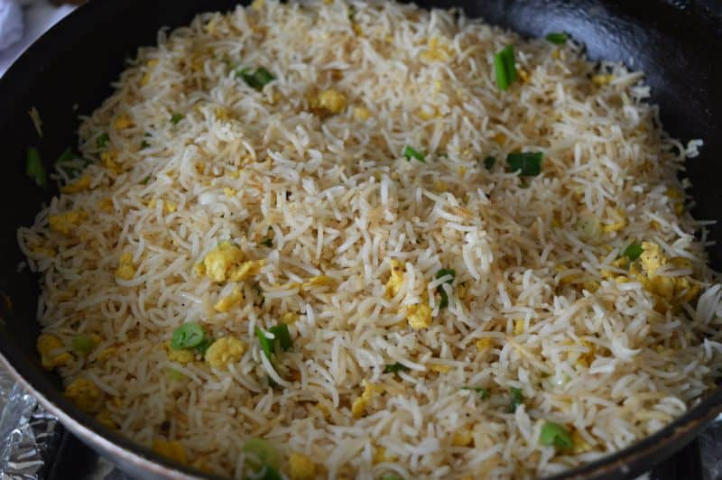 how to make chicken egg fried rice