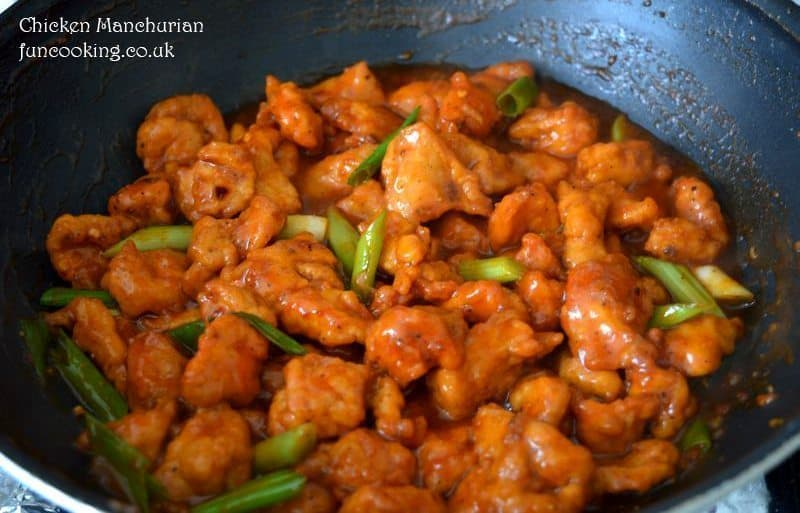 Chicken Manchurian is ready.