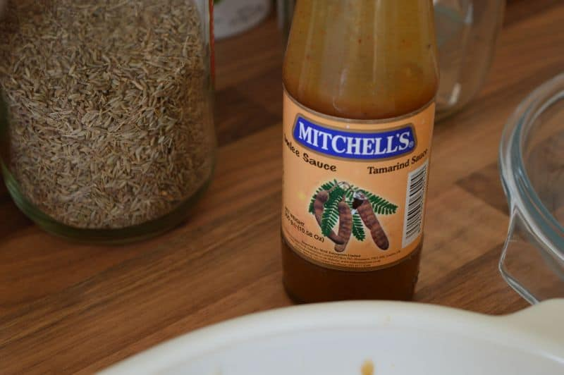 8. and I am using this tamarind sauce.