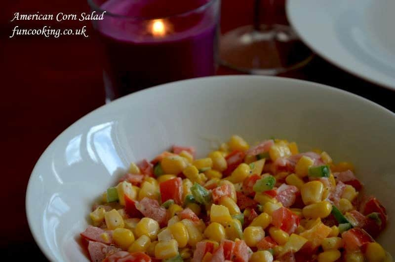American corn salad