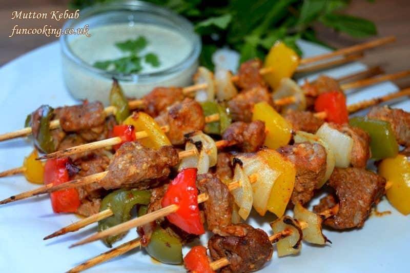 mutton kebab 105