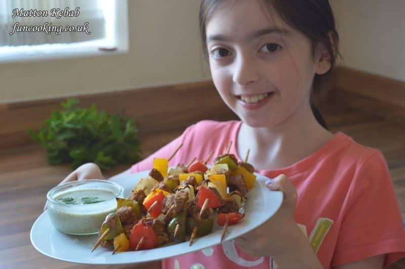 mutton kebab 108
