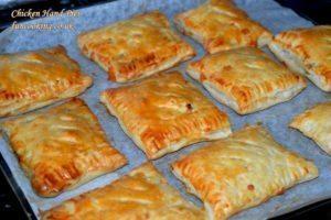 Chicken hand pies