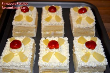 pineapple-pastries pakistani bakery style