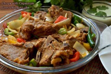 chops-with-capsicum