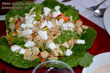 asian crunchy salad