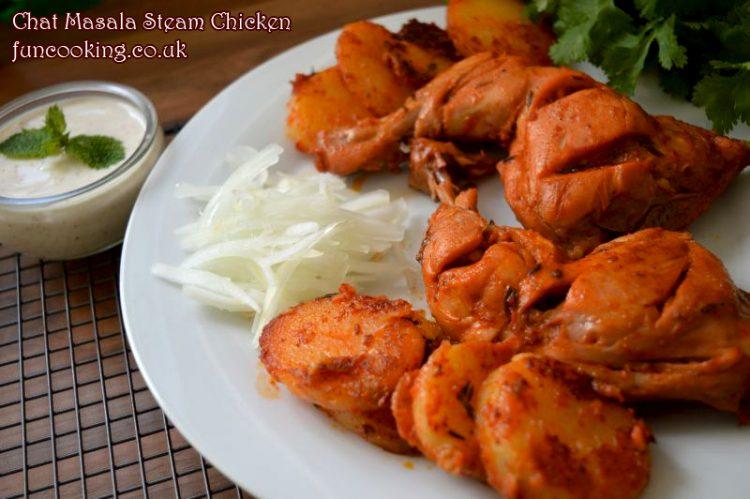 chat-masala-steam-chicken
