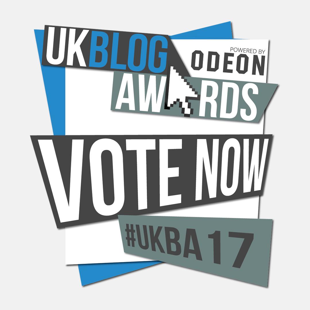 Vote for me in the UK Blog Awards 2017