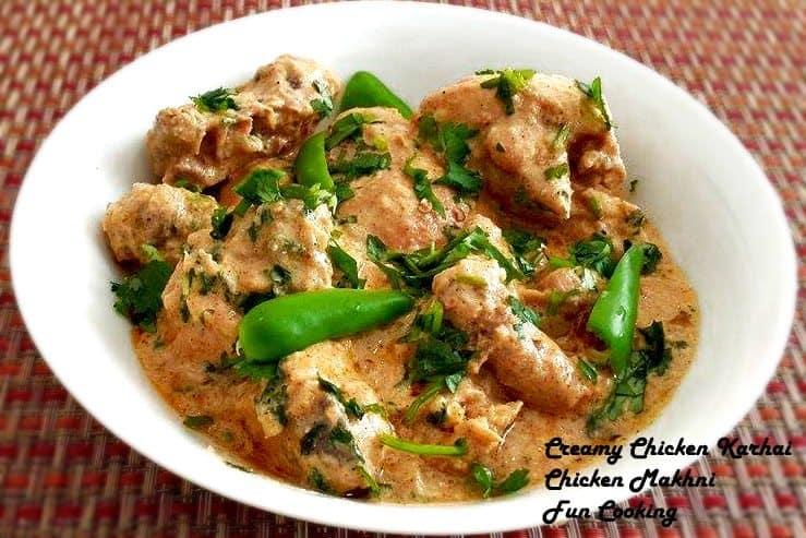 4. Creamy Chicken Karhai
