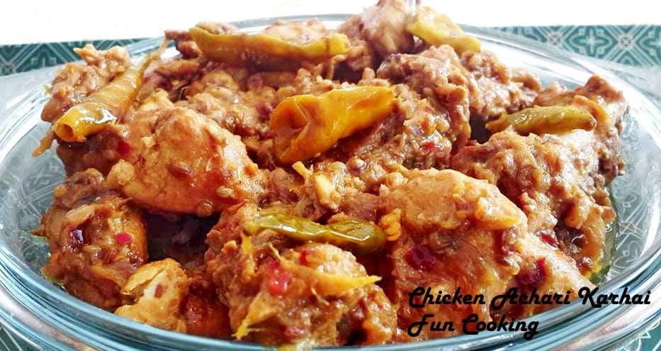 3. Chicken Achari Karhai