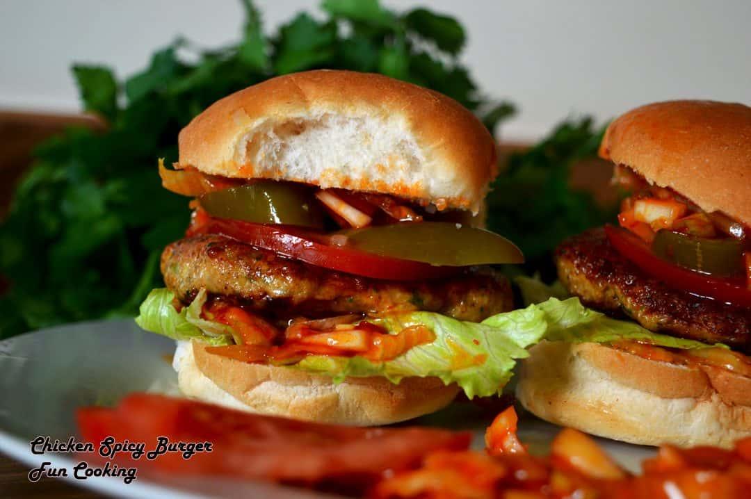 Chicken Spicy Burger