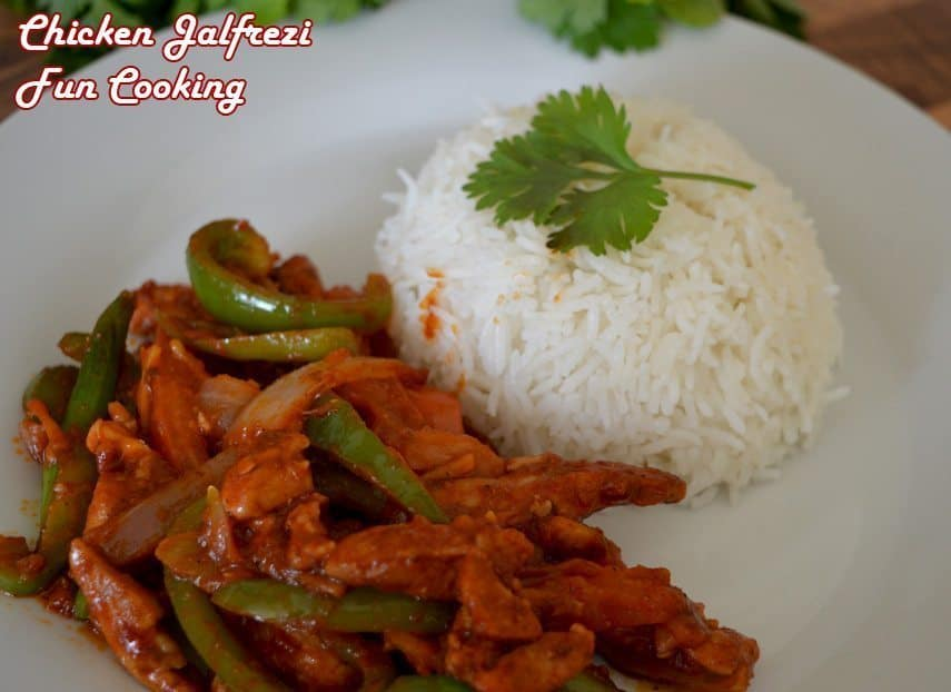 serve with plain white boiled rice.