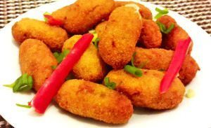 Chicken soy balls