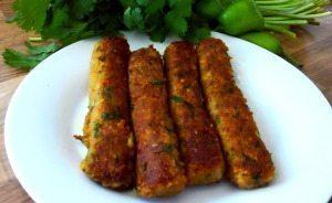 Vegetarian Seekh Kabab