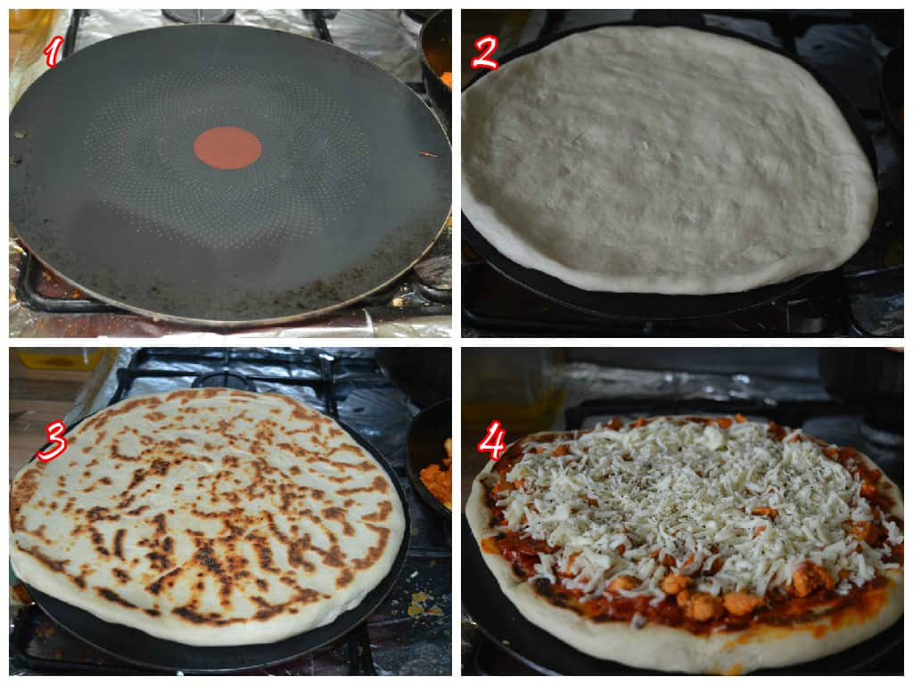 How to make perfect pizza in pan