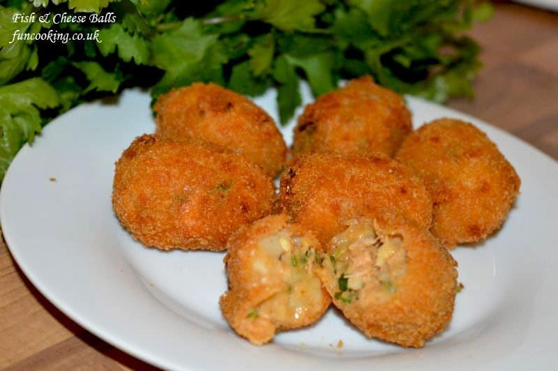 Fish cheese balls are ready, serve with your favorite dip.