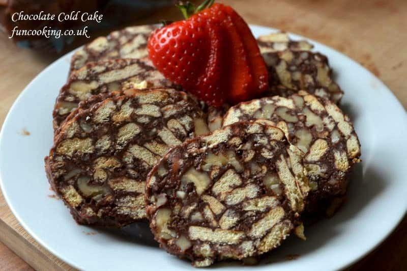 Chocolate Cold Cake Recipe With Marie Biscuits