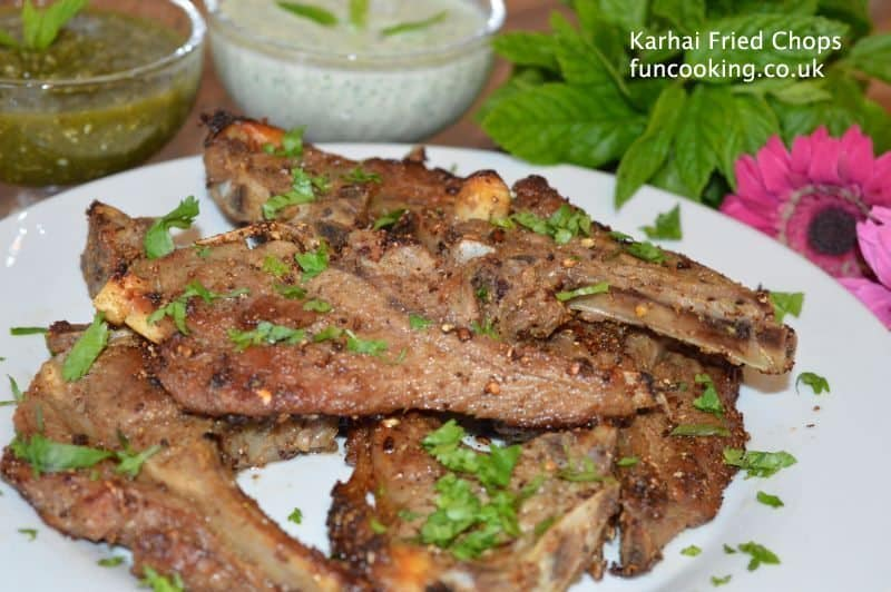 Karahi Fried chops