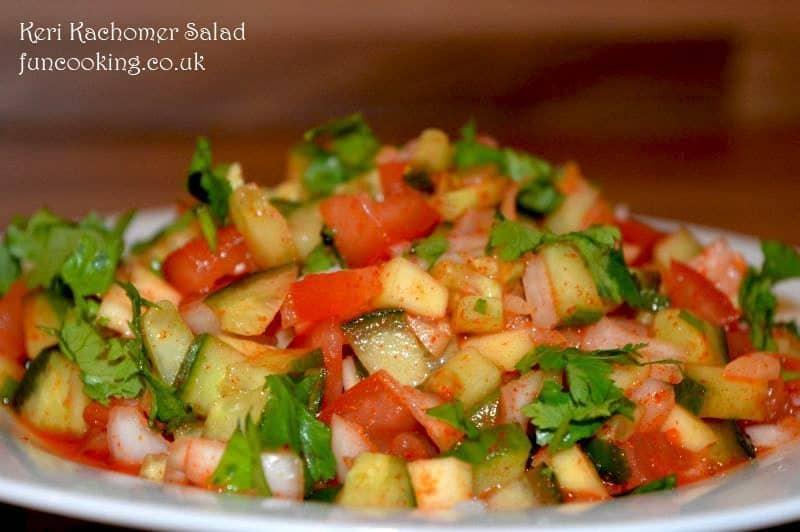 Keri Kachomer Salad