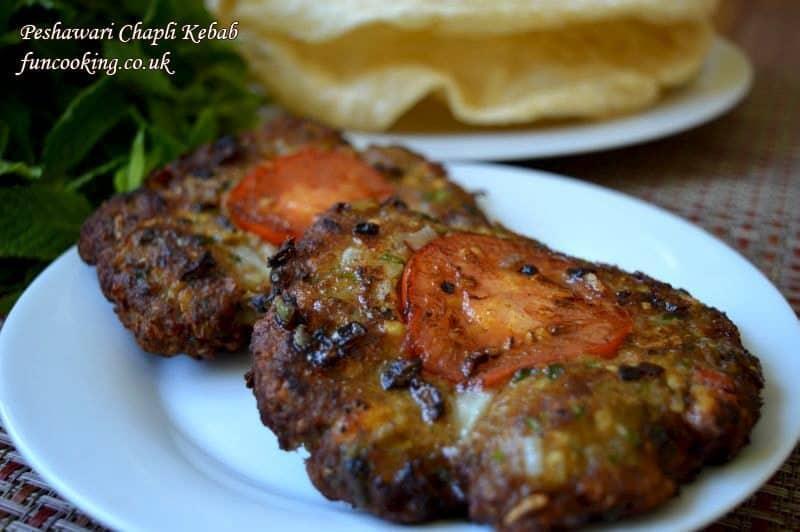 Peshawari-chapli-kebab