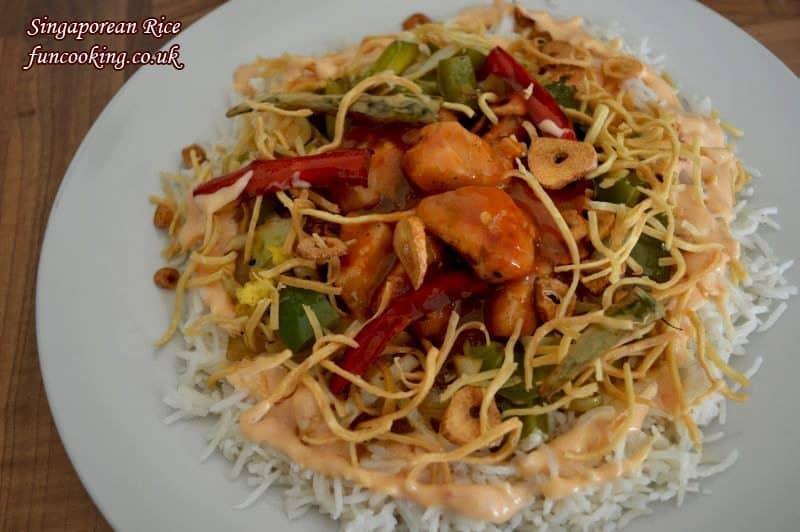 Singaporean rice