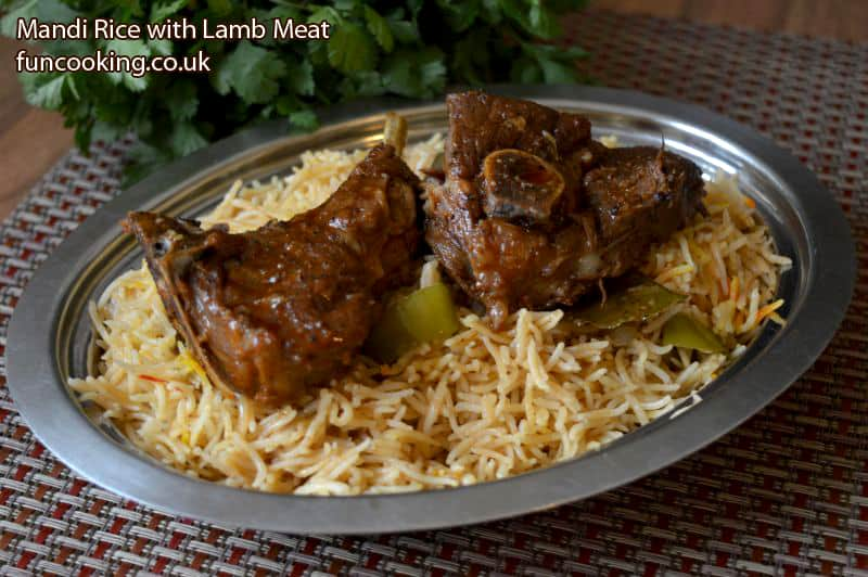 Mandi rice with lamb meat funcooking mandi rice with lamb meat forumfinder Images