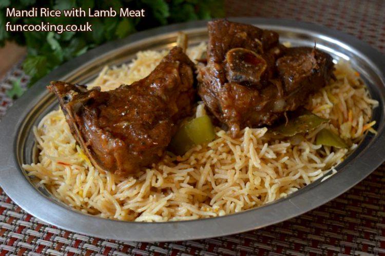 Mandi rice with lamb meat funcooking pin it on pinterest forumfinder Choice Image