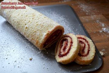 strawberry-jam-swiss-roll