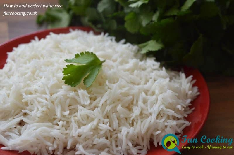 How to boil perfect white rice