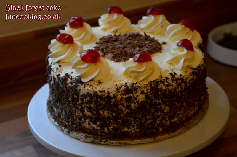 Black Forest Cake Icing Easy Recipes