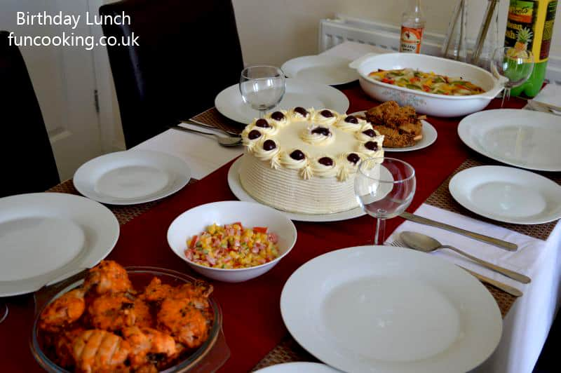 How to arrange a birthday lunch funcooking lunch menu ideas forumfinder Image collections
