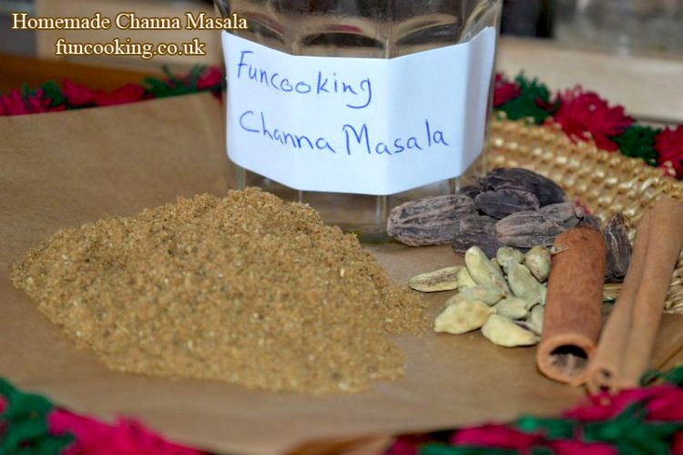 how to make chana masala powder at home