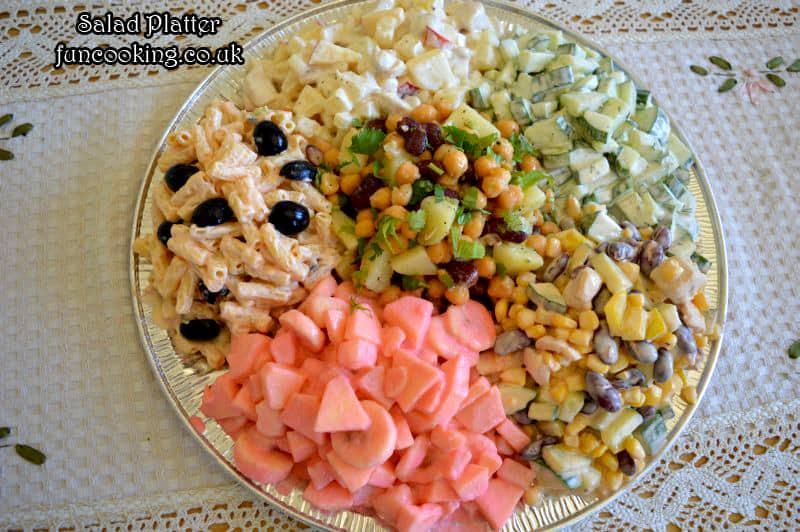 Salad platter