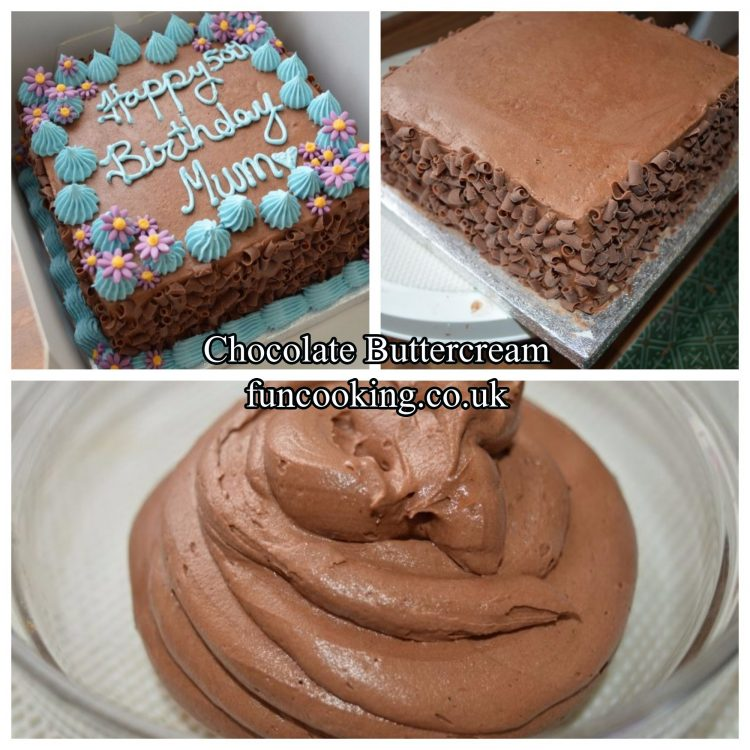 Chocolate buttercream
