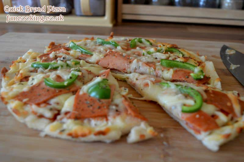 Quick Bread Pizza
