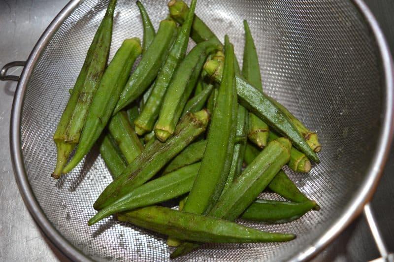 Bhindi Gosht